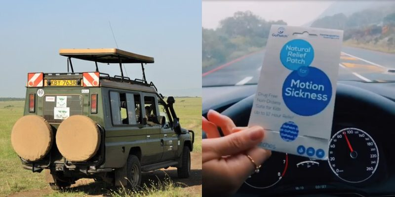 How to Combat Car Sickness While On A Kenyan Safari or Road Trip