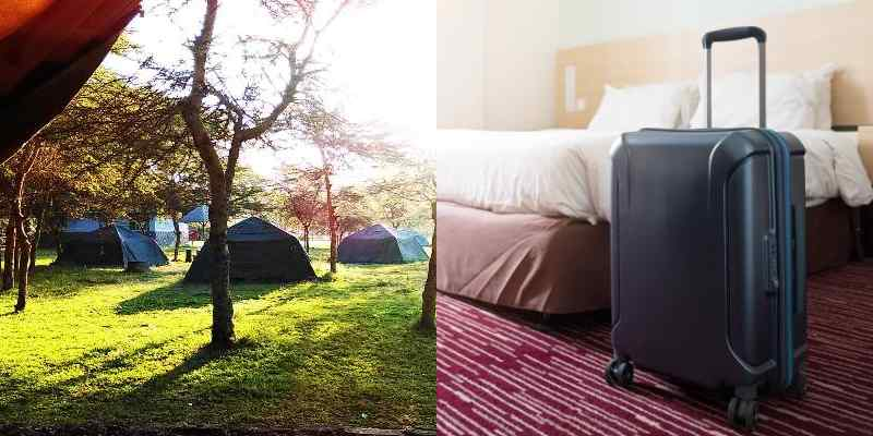 Camping Vs Hoteling, Which One Do You Prefer?