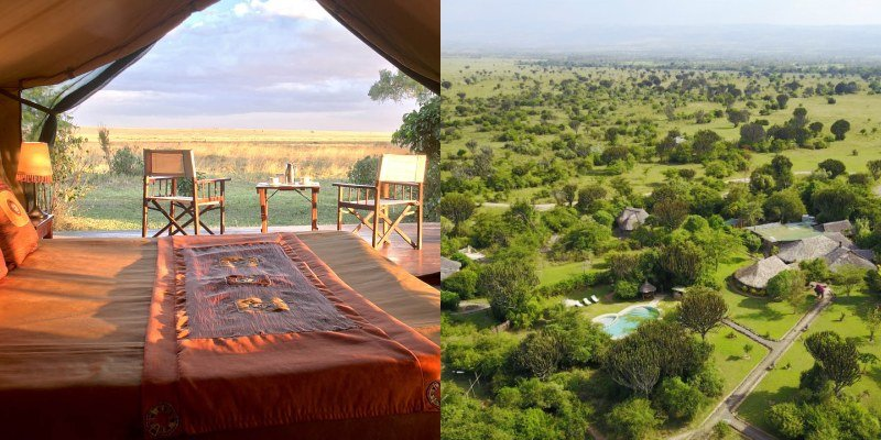 Luxury Camps With Excellent Game Viewing in Kenya
