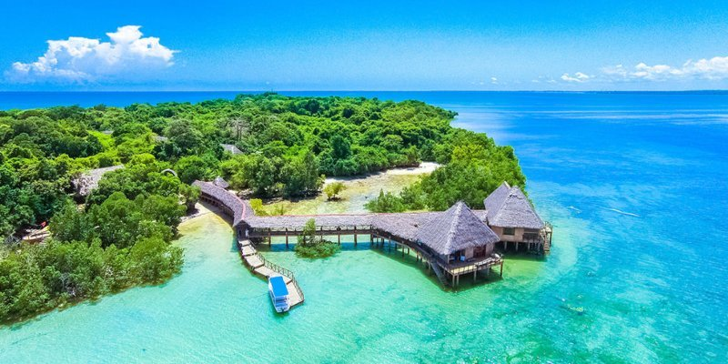Funzi Island: A Perfect Isolation Within Nature