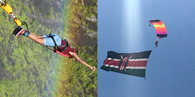 Sky Diving Vs Bungee Jumping: What's Your Pick?